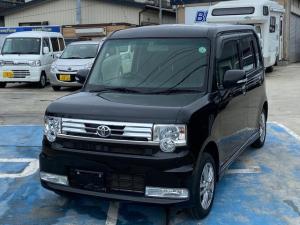 トヨタ ピクシススペース カスタム X 4WD 新品サマータイヤ スマートキー HID オートエアコン ナビ・TV フルセグ Bluetooth 純正フォグランプ ETC