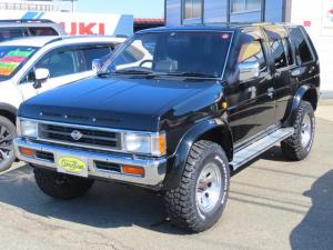 日産 テラノ V6-3000 ワイドR3M 4WD/2インチリフトアップ/ジムラインホイール/BFグッドリッチMTタイヤ/サンルーフ/USサイドマーカー/オートクルーズ/シートヒーター/キーレス/パナソニックメモリーナビ/HIDライト/ETC