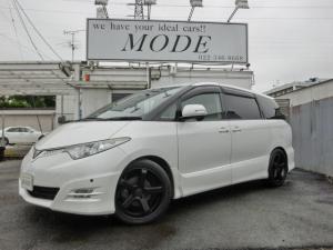トヨタ エスティマ アエラス 4WD ナビTV 19AW