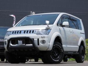 三菱 デリカD:5 D パワーパッケージ 4WD AmzStudio 4inアップ仕様 両側Pスライド 新品AWセット 地デジナビ 寒冷地仕様車