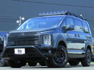 三菱 デリカD:5 G パワーパッケージ 4WD AmzStudio 1.2UPキャンパー仕様 リヤバックアーマー 新品AWセット レダクル&衝突軽減 ステリモ アラビューモニタ 両側Pスライド 後Pゲート