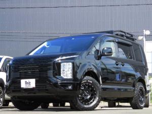 三菱 デリカD:5 G パワーパッケージ 4WD AmzStudio BK-ED キャンパー仕様 新品AWセット レダクル&衝突軽減 アラビューモニタ ステリモ 両側Pスライド 後Pゲート