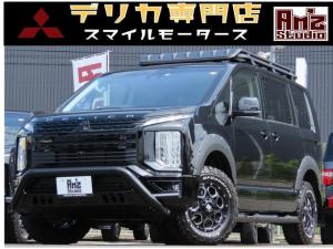 三菱 デリカD:5 G パワーパッケージ 4WD 新品AWセット レダクル&衝突軽減 アラビューモニタ ステリモ 両側Pスライド 後Pゲート