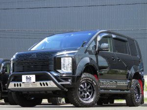 三菱 デリカD:5 G パワーパッケージ 4WD AmzStudio BK-ED 4UP仕様 新品AWセット レダクル&衝突軽減 アラビューモニター ステリモ 両側Pスライド 後Pゲート