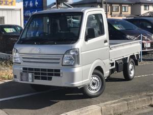 スズキ キャリイトラック KCエアコン・パワステ 4WD 届出済未使用車 スズキセーフティサポート装着車