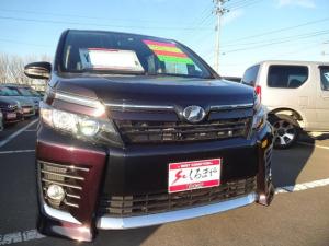 トヨタ ヴォクシー ZS 4WD 両側電動スライドドア フルセグ対応メモリーナビ