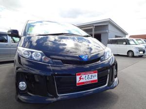 トヨタ エスティマハイブリッド アエラス 4WD 両側電動スライドドア パワーバックドア