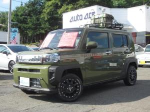 ダイハツ タフト G 4WD Rキャリア 新品15AW LEDワークライト