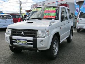 三菱 パジェロミニ ZR 4WD ETC ナビ Bluetooth CD AT 盗難防止システム 衝突安全ボディ エアコン パワーステアリング