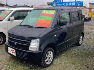 スズキ ワゴンR FX 4WD CD キーレスエントリー ベンチシート シートヒーター ABS エアバッグ 13インチアルミ 軽自動車 盗難防止装置 フルフラット