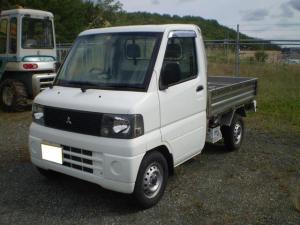 三菱 ミニキャブトラック ベースグレード 4WD MT5速 荷台ステンレス
