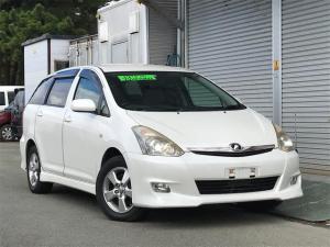 トヨタ ウィッシュ X エアロスポーツパッケージ 4WD SDナビ・テレビ バックモニター HIDライト アルミホール