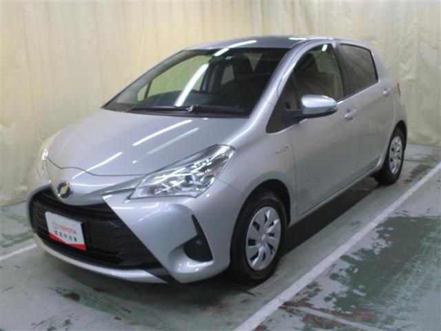 ※近隣都道府県への販売に限らせていただきます。 アウトレット車 低燃費で経済的なヴィッツHV、外装現状販売でお買得です
