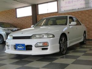日産 スカイライン GTS-tタイプM 4ドアセダン 5Speed エアロ キセノンライト 修復歴無し ワンオーナー車