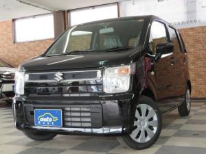 スズキ ワゴンR ハイブリッドFX 4WD 届出済み未使用車 ブラック内装 フルオートエアコン シートヒーター