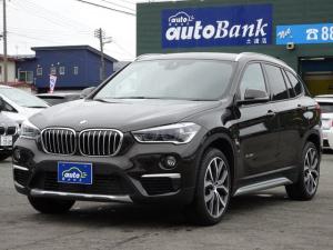 BMW X1 xDrive 20i xライン 純正19インチAW 純正HDDナビ レザーシート LEDヘッドライト