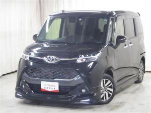 トヨタ タンク カスタムG モデリスタエアロ4WD スマートキー LED バックカメラ