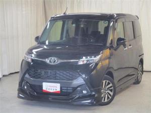 トヨタ タンク カスタムG フルセグナビ 4WD フルセグ対応SDナビ バックカメラ LED