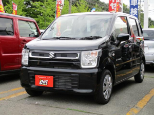 スズキ ワゴンR ハイブリッドFX 4WD スズキセーフティーサポート ブラック内装
