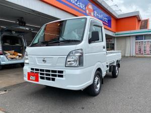 日産 NT100クリッパートラック DX DX セーフティーパッケージ 4WD AT フロアマットドアバイザー付き  届出済未使用車