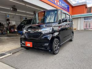 ホンダ N-BOXカスタム G・Lホンダセンシング 4WD ホンダセンシング LEDヘッドライト 助手席側パワースライドドア パイオニアサイバーナビ ブルートゥース フルセグTV ETC ドラレコ ワンオーナー