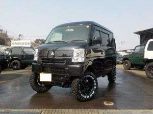 スズキ エブリイ ジョインターボ 4WD マニュアル5速 リフトアップ