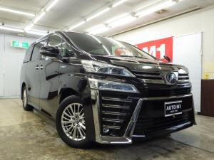 トヨタ ヴェルファイアハイブリッド ZR Gエディション 4WD 7人乗 ワンオーナー禁煙車 黒革エアーシート