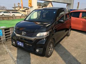 ホンダ N-WGNカスタム カスタムG 4WD ナビ Bカメラ HID