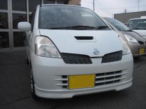 日産 モコ T ローダウン 4WD シートヒーター