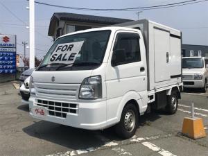 スズキ キャリイトラック 4WD 冷凍車 AC 5MT パワーウィンドウ SRS