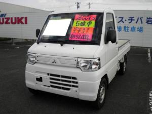 三菱 ミニキャブトラック  4WD パワステ エアコン エアバック