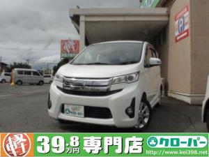 三菱 eKカスタム G HIDライト アラウンドビューモニター 6/19-25限定車