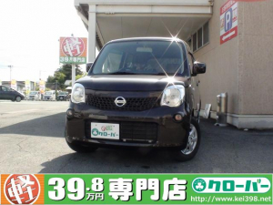 日産 モコ S FOUR 4WD セキュリティ シートヒーター