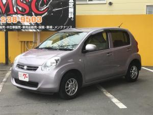 トヨタ パッソ X ユルリ 4WD CD MD スマートキー ベンチシート