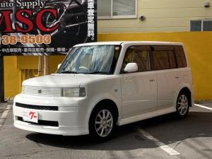 トヨタ bB S Wバージョン 4WD フルエアロ 社外15インチアルミ CD DVD再生可能 キーレス ABS エアバッグ ベンチシート 電動格納ミラー コンパクトカー