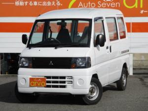 三菱 ミニキャブバン CS ハイルーフ 4WD 5速マニュアル エアコン