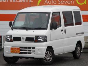 日産 クリッパーバン DX 4WD オートマ ナビ Bluetooth