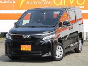 トヨタ ヴォクシー X /4WD/純正フルセグナビ/Bカメラ/Bluetooth/トヨタセーフティセンス/ビルドインETC/ハイビームアシスト/LEDヘッドランプ/クルーズコントロール/オートライト/左パワ-スライドドア