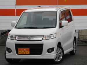スズキ ワゴンR スティングレーX 4WD/HIDライト/シートヒーター/Pスタート/CD/スマートキー