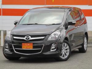 マツダ MPV 23S 4WD/8人乗り/ナビ/ETC/キーレス/両側パワースライドドア/社外アルミホイール