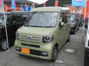 ホンダ N-VAN+スタイル ファン 4WD/スマートキー/プッシュスタート/未使用/フルLEDライト