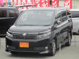 トヨタ ヴォクシー  4WD/フルセグナビ/エンジンスターター/両側パワースライドドア/フリップダウン