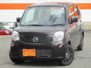 日産 モコ S FOUR 4WD/ナビ/Bluetooth/キーレス/ETCシートヒーター