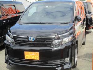トヨタ ヴォクシー V 両側パワスラ/LEDヘッドライト/9インチ純正ナビ/TV/Bモニター/ETC/後席フィリップモニター/クルコン