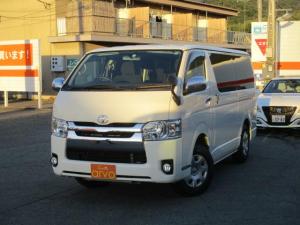 トヨタ ハイエースバン ロングスーパーGL 4WD/ディーゼル/ナビ/バックカメラ/LEDヘッドライト