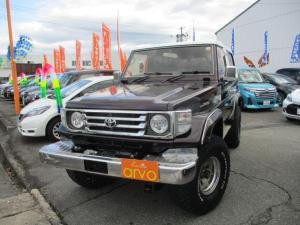 トヨタ ランドクルーザー70  FRPトップ/リフトアップ