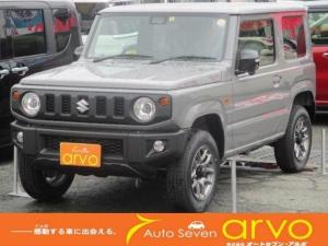 スズキ ジムニー XC 4WD/届出済未使用車/スズキセーフティ/スマートキー/LEDヘッドライト