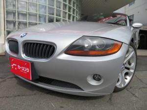 BMW Z4 2.5i 社外ナビレザーシート・シートヒーター・ドラレコ