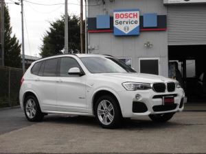 BMW X3 xDrive 20d Mスポーツ ブラックフルレザー電動パワーシート シートヒーター 純正キセノン 純正18インチアルミ 純正HDDナビ フルセグTV 360度カメラ パワーバックドア SOSコール インテリジェントセーフティ