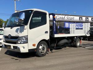 トヨタ ダイナトラック 積載車 フルフラット ウインチ リモコン付 ETC